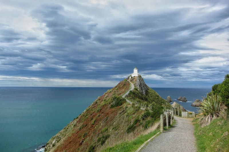 Adventure Lighthouse Motorhome New Zealand Nugget Point Selfdrive South Island