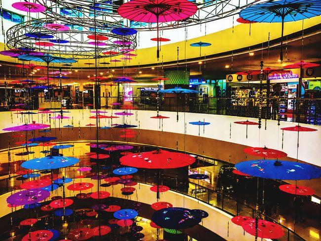 Umbrella Revolution Indoors  Multi Colored Eyeem Philippines