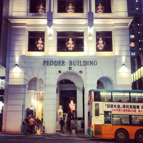 Pedder building: now an Abercrombie & Fitch, was Shanghai Tang