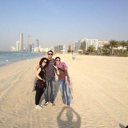 Beach Sea Landscape Me Abudhabi Abudhabiland UAE Emirates Gulf Arabic Arab Travel Trip Bestplace Bestoftheday OneLove ILoveUAE Iloveit Amazing Buildings Burj Palm Capital City Instauae instacity instaabudhabi iloveabudhabi