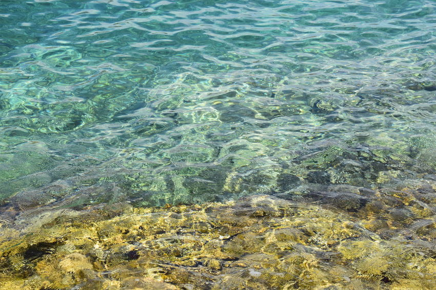 Backgrounds Beauty In Nature Clear Sea Close-up Croatia Day Full Frame High Angle View Nature Nature Nature_collection No People Outdoors Peacfull Place Sea Stones & Water Tranquil Scene Tranquility Travel Destinations Water Waves
