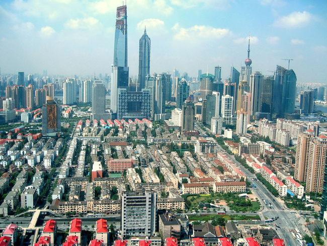 Shanghai Buildings & Architecture Architecture Architecture Architecture_collection Building Built Structure Business District Capital Cities  Cityscape Financial District  High Rise Building Housing Estate Residential Building Showcase July Skyscraper Skyscrapers Urban Skyline Beautifully Organized