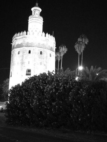 History Night Illuminated No People Black And White