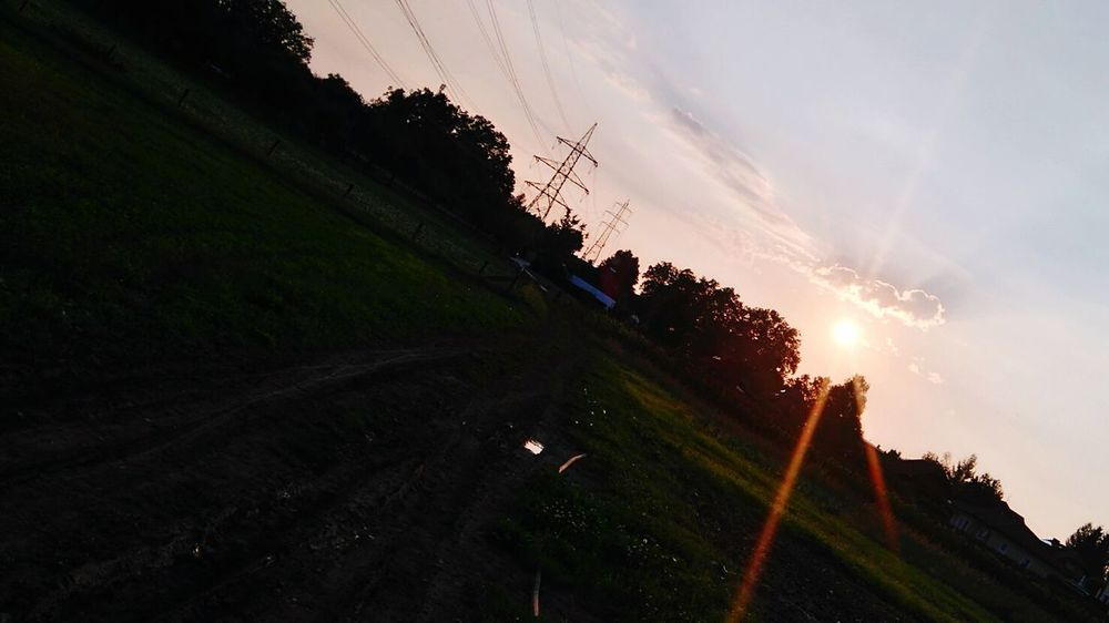 Sunset Cloud - Sky Sunlight Sunny Sunshine Sun ☀ Wolken ☁️ Wolken *-* Wolken Abendhimmel