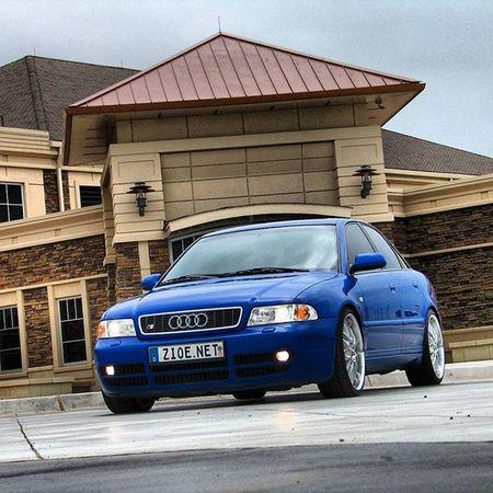 Audi S4 Biturbo AWD  audis4 audis4b5 s4b5 nogaroblue b5 oklahomacity tbt b5s4 audi_official