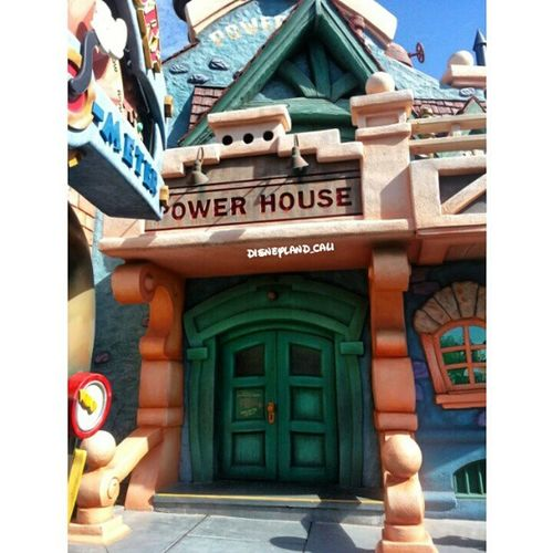 POWER HOUSE! :) Disneyland Disneyland_cali Toontown Powerhouse