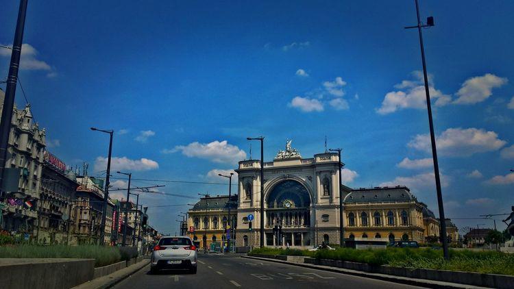 Keleti Railway Station Budapest Hungary City Life