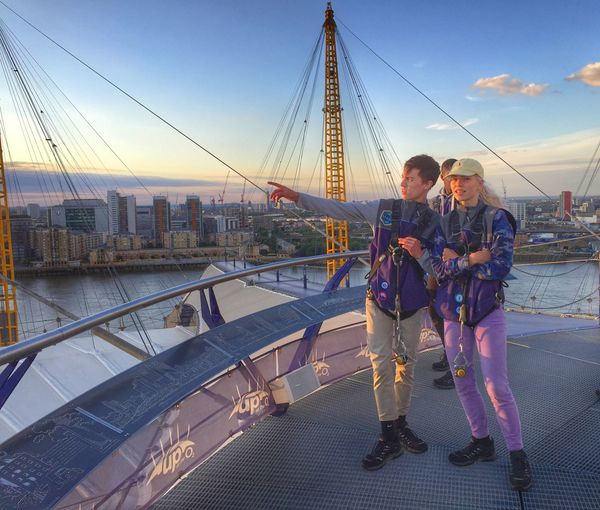 On top of the O2, in London. London O2 Arena Hanging Out Taking Photos Enjoying Life