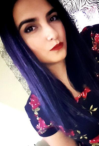 👀💟Black Hair Latina Serious Nigthout