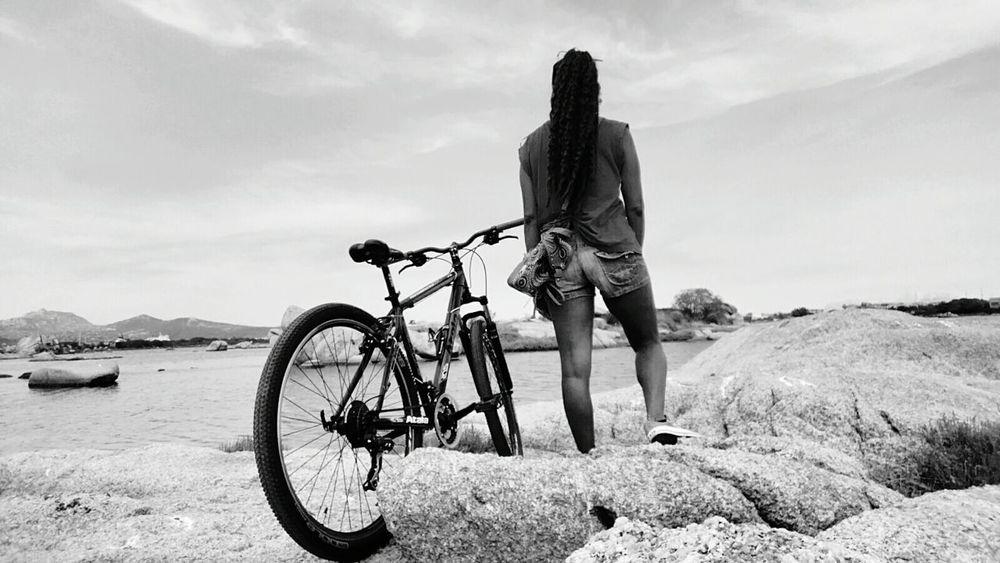 Bicycle Mountain Bike Tranquil Scene Blackandwhite Black & White Blackandwhite Photography Monochrome Monochrome Photography Sport Atala Woman Portrait Woman CyclingUnites Olbia  Sardegna Sardinia Italy Poltuquatu My Year My View