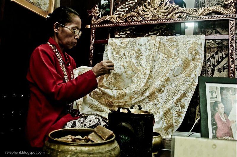 batik...art painting indonesia MyPhotography Window Shopping
