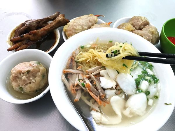 China Chinese Dimsum Food And Drink Food Plate Ready-to-eat Freshness Serving Size Healthy Eating Noodles Bowl Soup