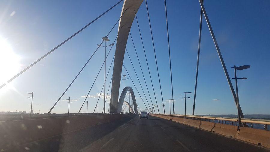 Skybsb JKBridge Blue Road Car Bridge - Man Made Structure