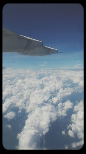 when I went traveling from Semarang , Indonesia to Jakarta, I enjoy took Amazing View Clouds from an airplane window.