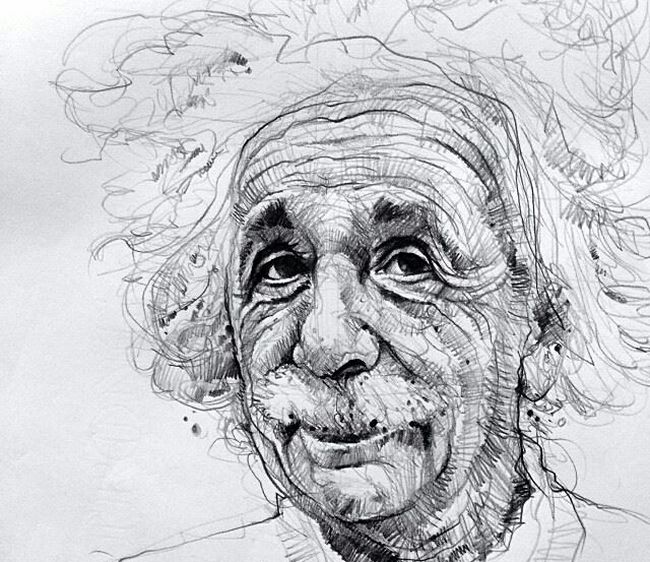 Proud Drawing Quick Sketch Enjoying Life 2014
