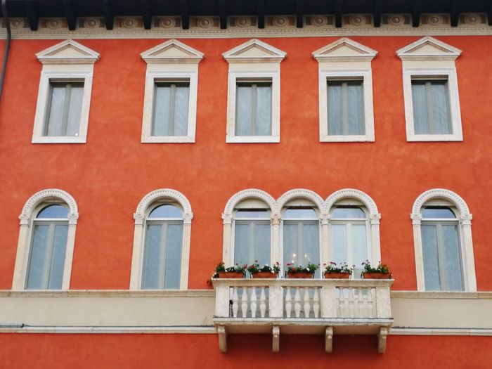 House Home Verona Veneto Italy Windows Balcony Flowers Red Orange EyeEm Selects Window Box City Flower Window Architecture Building Exterior Exterior Shutter Residential Building Potted Plant Building Settlement Residential District Residential Structure Awning Townhouse Housing Settlement Roof Tile Neighborhood