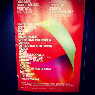 Organic Dance Music Festival Killa! Kesselhaus Zénith  Munich München