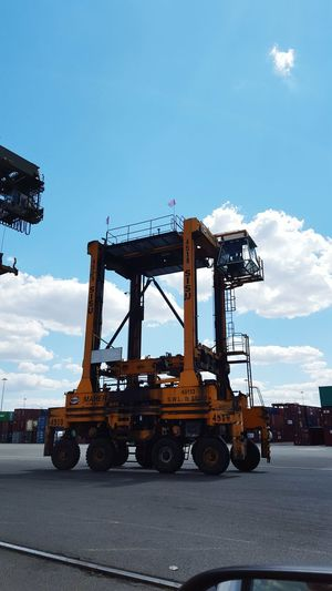 Straddle Carrier Portlife Ila Strong