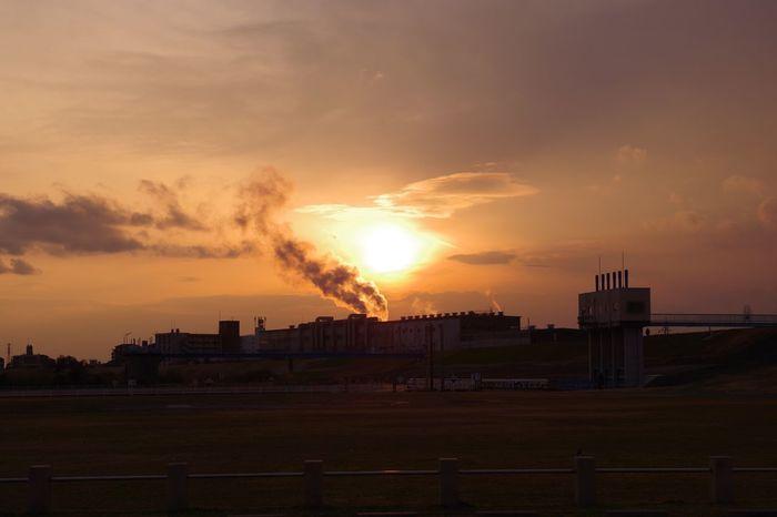 摂津 淀川 Sunset