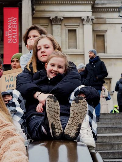 Womens March. London. 19/01/2019 LONDON❤ Equality Womens March Womens March 2019 Womens March London Protesters Protest London News Stevesevilempire Steve Merrick OM-D Olympus Child Group Of People Men Males  Family Architecture Childhood
