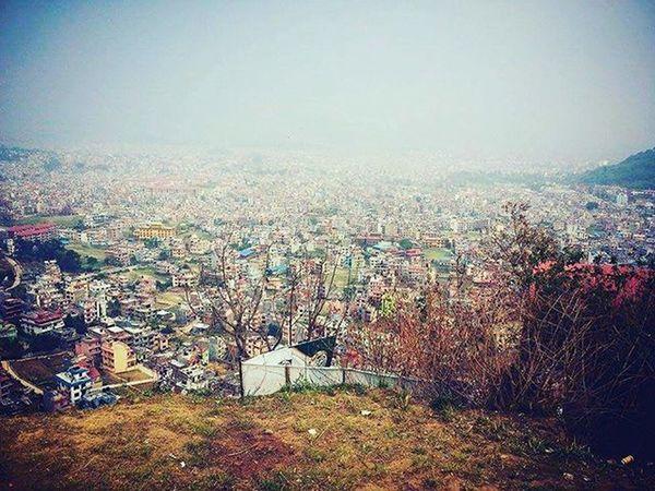 Kathmandu Sahara 🏢🏣🏤 Lagyo malai Rahara 📷👲✌ Morningvibes Snapshot Moments Instamorning Instalove Halchowk ⛅