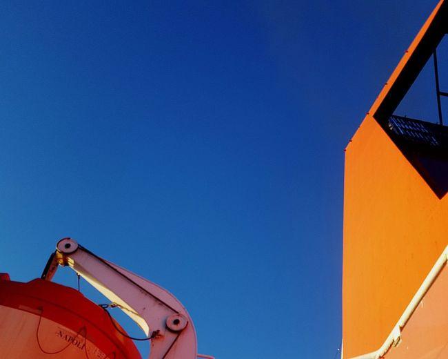 Blue Sky Orange