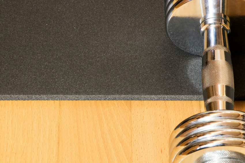 Wood - Material Close-up Indoors  No People Fitness Fitness Training Fitness Time Fitness Equipment Dumbbell Dumbbells Fitness Mat Lifestyle Sport Sports Training Lifestyle Photography Parquet Floor Wooden Floor High Angle View Eye4photography  EyeEm Gallery Fitness Workout Bodybuilding Sport Time Workout Workout Time