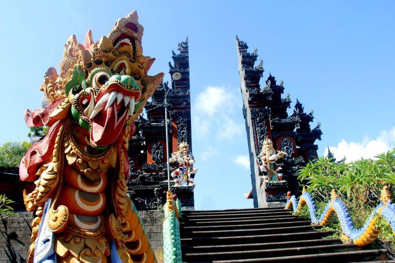 Bali temple.