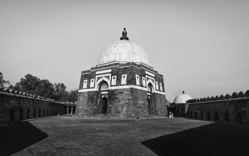 This image is part of my ongoing project covering the last resting places of Delhi Sultanate. Delhi Sultanate Delhi Sultanate Tomb Tomb, Monochrome Travel Grave Politics And Government City Sky Architecture Building Exterior Built Structure Dome Islam Mausoleum Historic Civilization Memorial