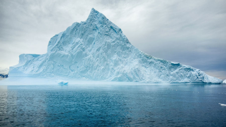 Antarctica Nature Frozen Glacier Iceberg Nature No People Sea Sky Snow Water