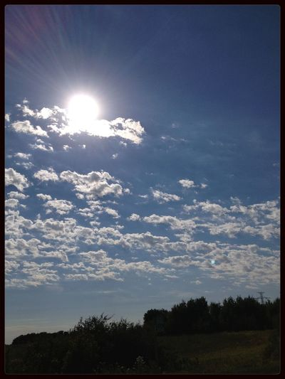 Sun_collection Sunset #sun #clouds #skylovers #sky #nature #beautifulinnature #naturalbeauty #photography #landscape Clouds Nature Gorgeous day