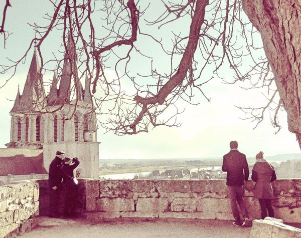The French Royal City of Blois ... Cityscapes Landscape Tourists Tourism Tourist Tourist Attraction  Tourist_spot Cathedral People People Watching Sepia Sepia_collection Old Photo Old Pic  France Showcase March