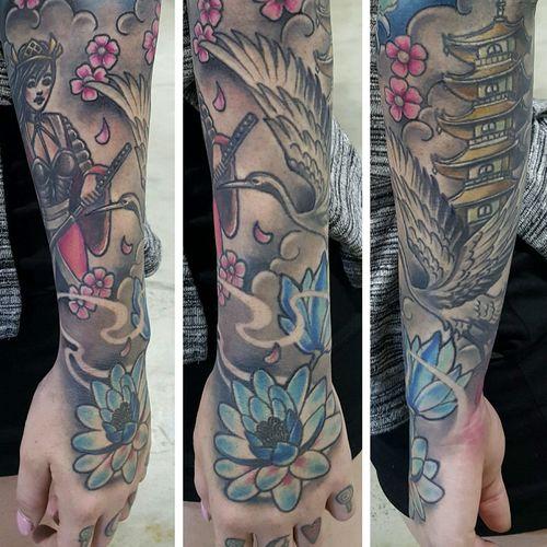 Tattoo Sophie Lewis Newcastle NSW, Australia Flt Tattoo Studio