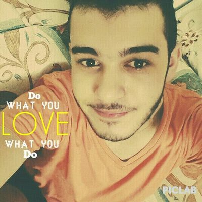 Do what you love, love what you do Selfie Piclab Home Morning