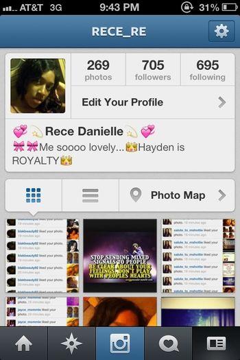 Follow Me On Instagram @rece_re