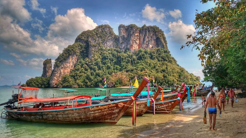 TravelThailand Travel Travel Destinations Thailand Beach Nature Water Sky Beauty In Nature Landscape People