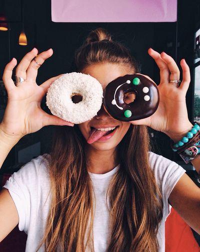 Yummy donuts!