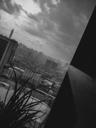 the rain is