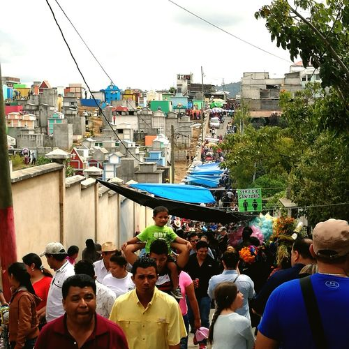 Walking On The Street People GuatemalaVisitala Cemetery Photography Arts Culture And Entertainment