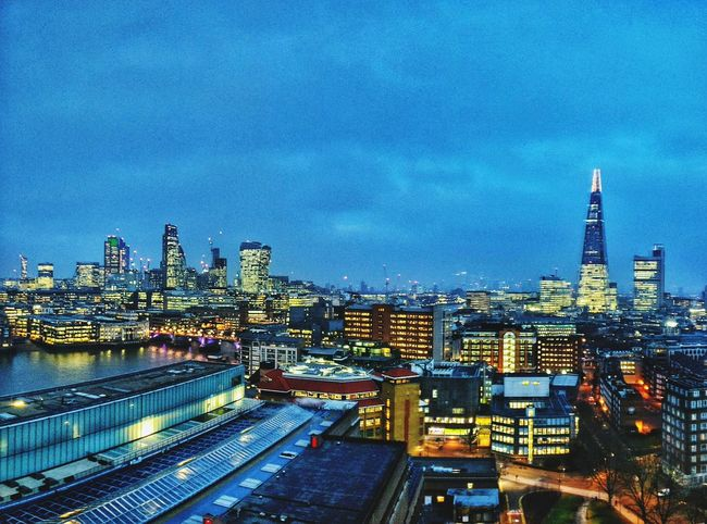 City Cityscape Architecture Night Urban Skyline Illuminated Building Exterior Skyscraper Built Structure Dusk Sky Business Finance And Industry Bridge - Man Made Structure City Life Travel Destinations The Shard Outdoors No People Modern London LONDON❤ London's Buildings London Skyline At Night London Skyline Neighborhood Map