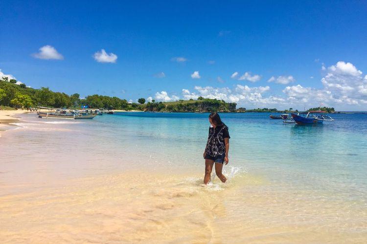 Beach Whitesand Getlost Happyvacation Cloudandsky BeautifulIndonesia Repicturetravel