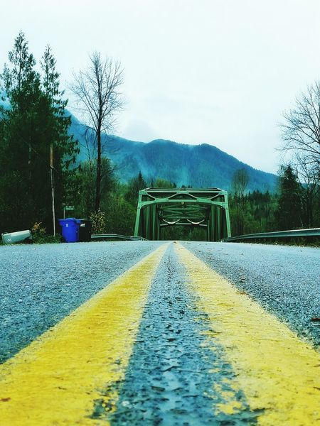 The road is always long, but sometimes a bridge comes. Washington Washington State Road To Nowhere Clouds And Sky Cloudy Sky Cloudyday Rainy Days Winter Lifeisbeautiful Life Lessons Mountains Beauty Beauty In Nature God Is Good Gods Creation Created Reallife Cloudscape Nature Photography Nature Naturelover