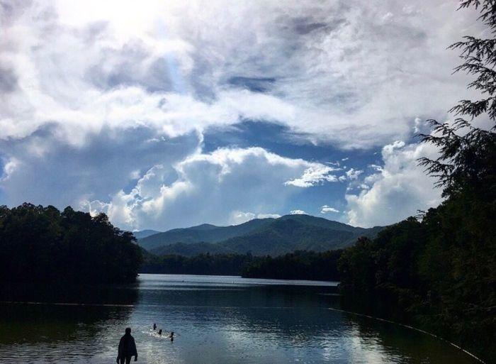 Lake Santeetlah | North Carolina | Great Smokey Mountains Lake Scenics Mountain Range Landscape Mountain Nature Beauty In Nature Outdoors Tranquil Scene Great Outdoors-EyeEm Awards 2017