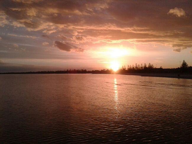 Sunset Taking Photos Nofilters