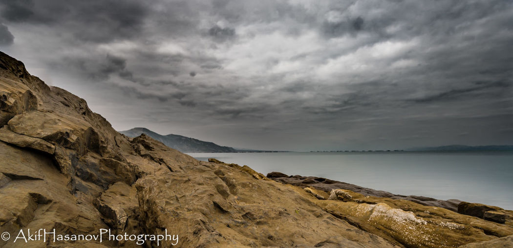 Mingachevir, Azerbaijan Water Tranquility Sky Sea Rock - Object No People Nature Cloud - Sky Beauty In Nature