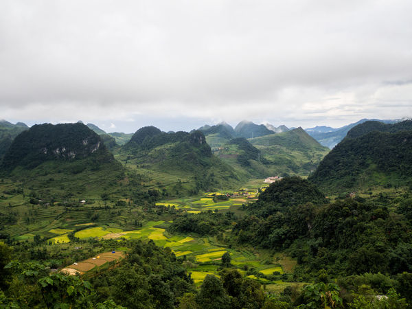 Somewhere in northern Vietnam Agriculture Beauty In Nature Cloud - Sky Day Green Color High Angle View Landscape Mountain Mountain Range Nature No People Outdoors Rural Scene Scenics Sky Tranquil Scene Tree