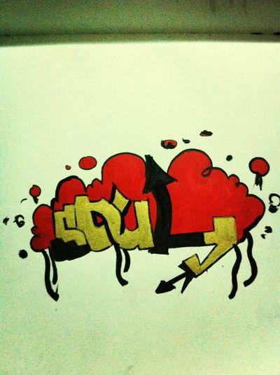 Hello World Graffiti Relaxing Art