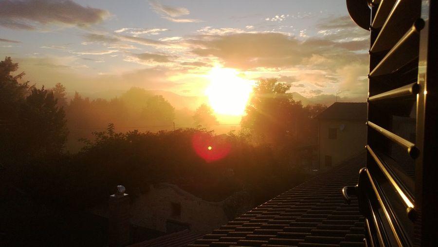 Colmotino Cascia Umbria, Italy Umbria Montagne Montagna Sun Sole...☀ Sole Nebbia Foggy