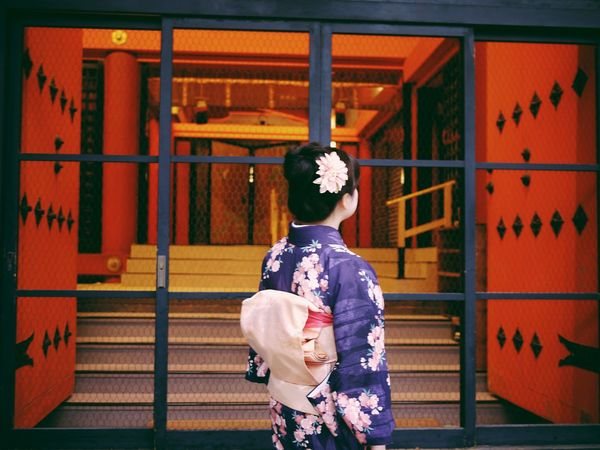 Taking Photos Vscocam From My Point Of View Japan Kyoto Kimono Traveling