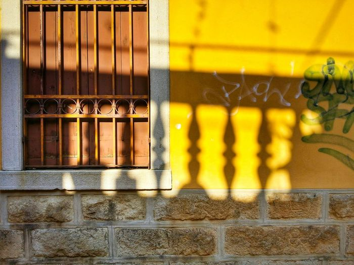 Mad About The Colours Of Venice Those Yellows Balustrades Scenic Shadows Venice Veneto Italy Travel Photography Traveling Travel Paint The Town Yellow